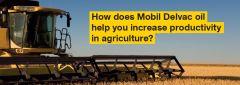 Mobil alyva Mobil Delvac Mobil Agri
