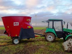 MTZ 320 with BvL Agilo